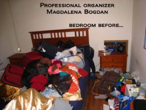 Professional Organizer in Houston Magdalena Bogdan Bedroom organizing before2