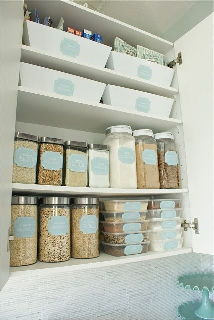 Professional organizer houston, kitchen-organization-dollar-store-containers